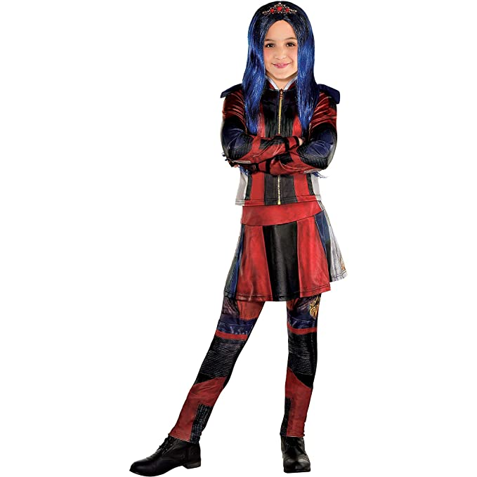 Party City Evie Halloween Costume for Girls, Descendants 3, Includes  Accessories