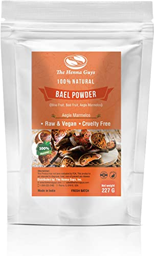 227 Grams 8 Oz Bael Powder Aegle Marmelos Powder, Raw Vegan Bael Powder