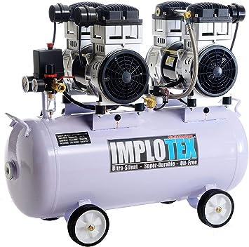 3000 W 4PS – silenciosos Compresor De Aire Comprimido Compresor ADP-65DB Silencioso sin aceite implotex: Amazon.es: Bricolaje y herramientas