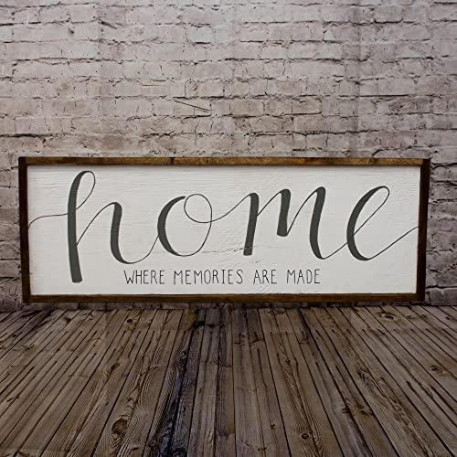 Home sign rustic home sign wood home sign mantle decor wall decor living room wood art