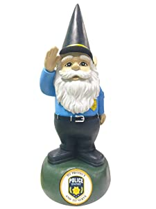 Red Carpet Studios 35166 Outdoor Garden Gnome, Police Department