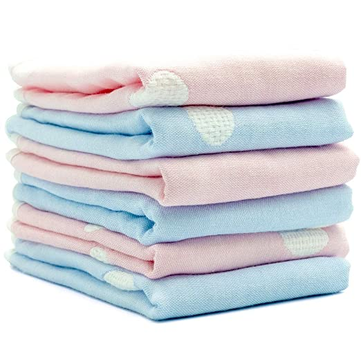 Baby Towel Washcloth 100/% Organic Bamboo Muslin Soft Absorbent Burp cloth M2I4