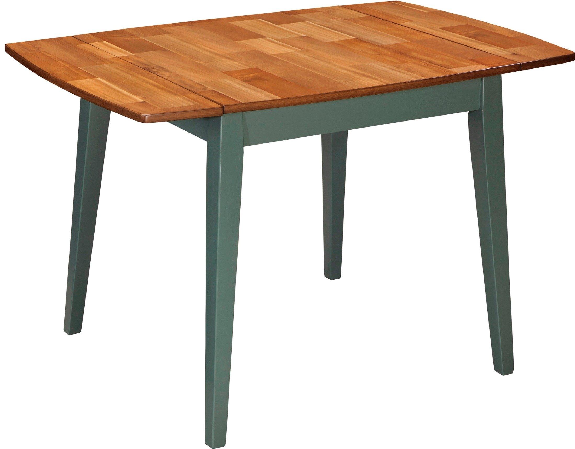 Signature Design by Ashley Bantilly Light Blue Rectangular Dining Room Drop Leaf Table -  - kitchen-dining-room-furniture, kitchen-dining-room, kitchen-dining-room-tables - 71FNclGYA%2BL -