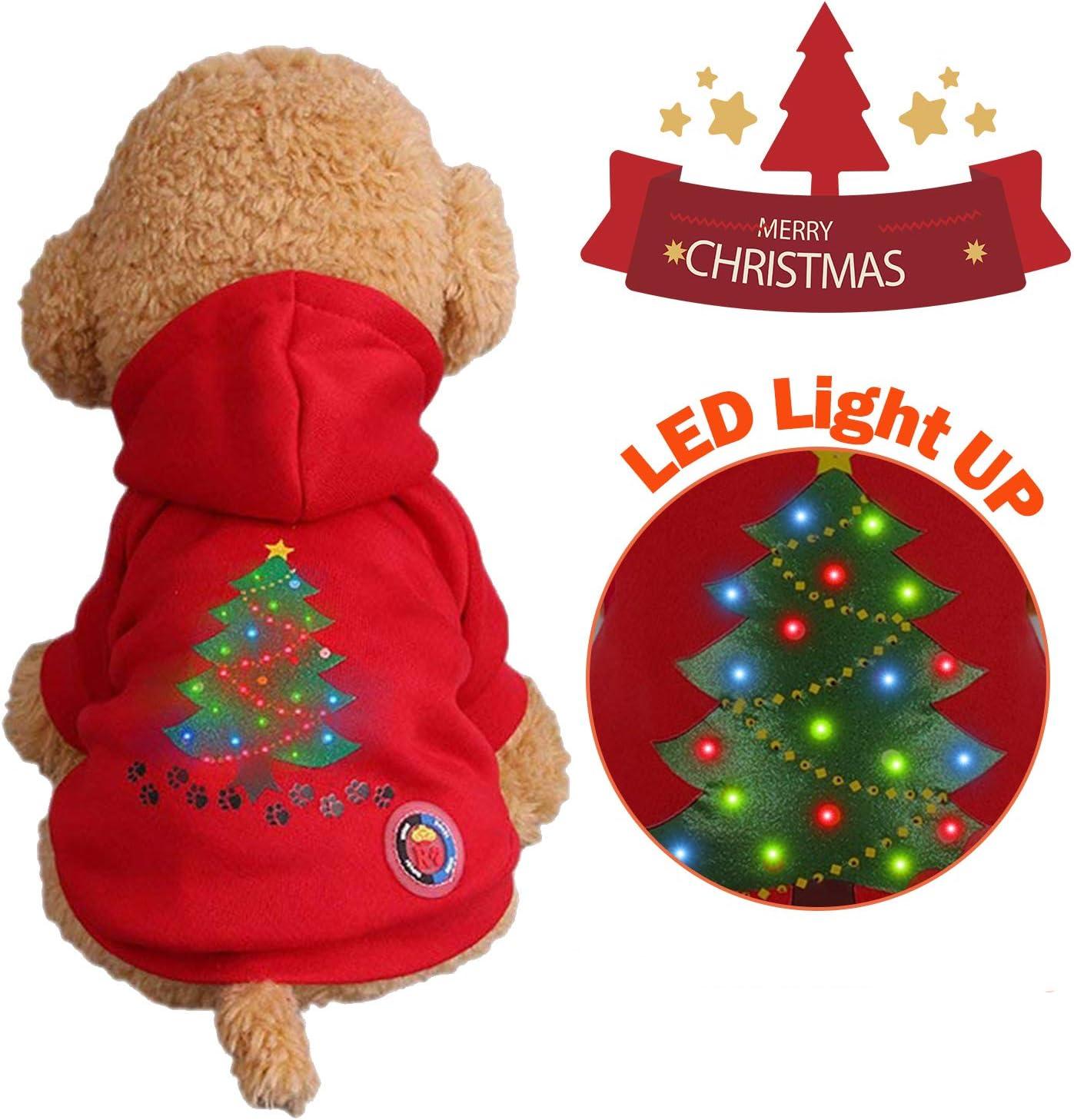 Garlagy - Disfraz de Navidad para Mascotas, Perros, Gatos ...