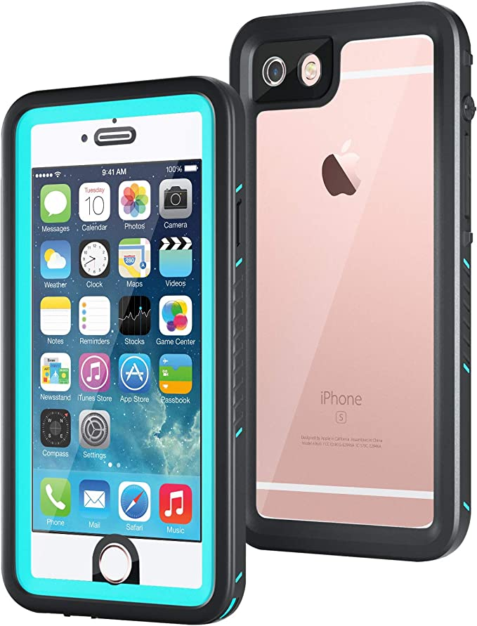 meritcase Waterproof Case with Kickstand and Built-in Screen Protector for Apple iPod Touch 5//6//7 for Swimming Snorkeling Surfing Black
