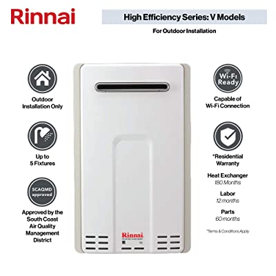 Rinnai V65eN HE Tankless Hot Water Heater