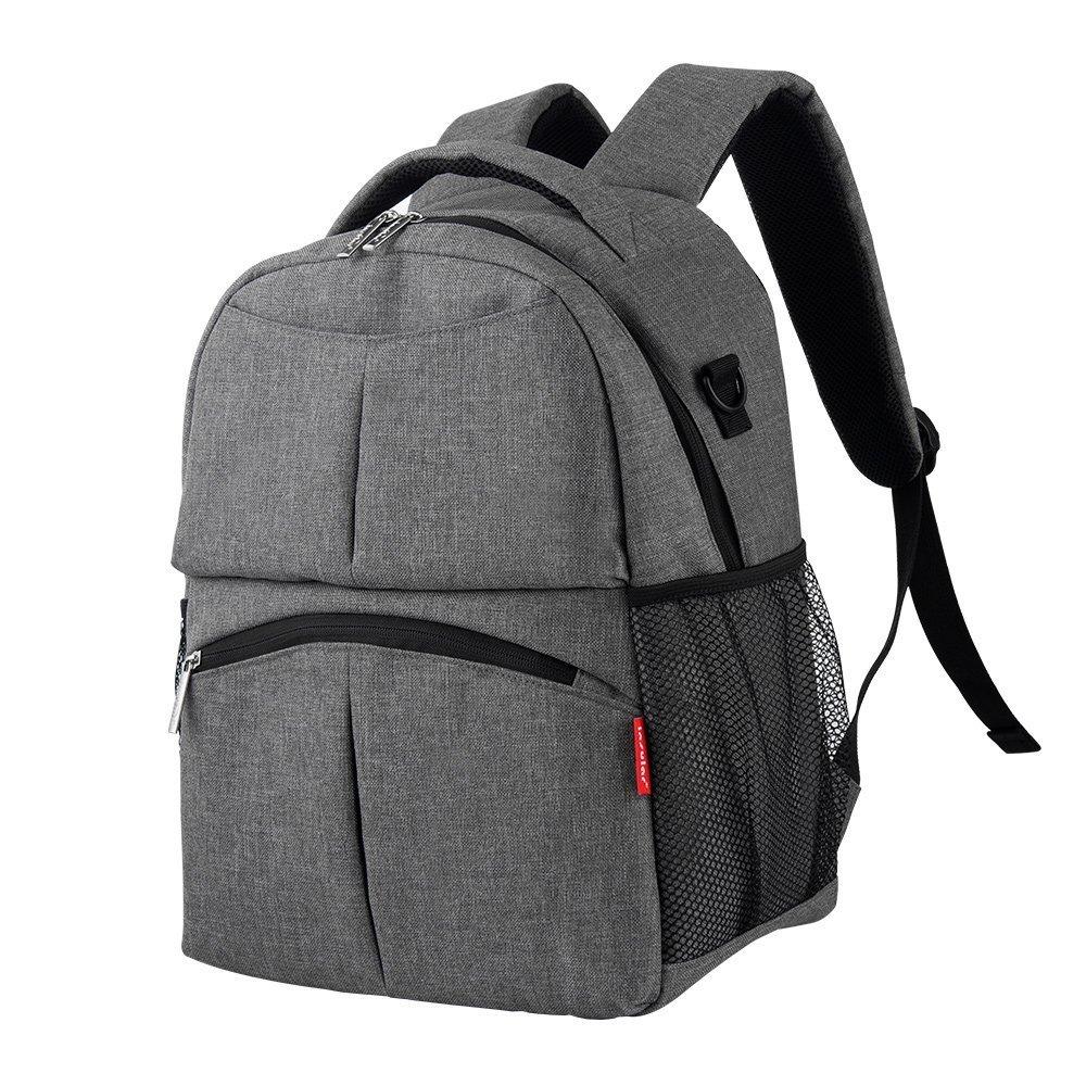 Multifunctional Mommy Bag, Decdeal Insular Shoulders Bag with Shoulder Strap Durable Backpack Diaper Bag for Mom Baby Shower Gift SPSUDKQ14160