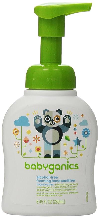 Babyganics Alcohol Free Foaming Hand Sanitizer Bundle 2 Items