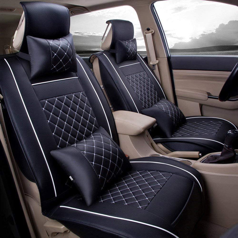 2003-2010 Connected Essentials CEM650 Car Mat Set for Cayenne Premium Black with Black Trim