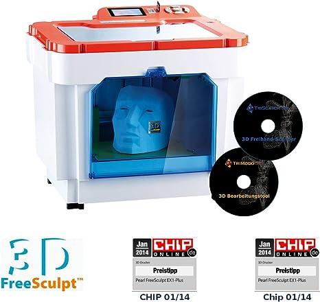 FreeSculpt EX1-ScanCopy - Impresora 3D, con 2 programas de ...