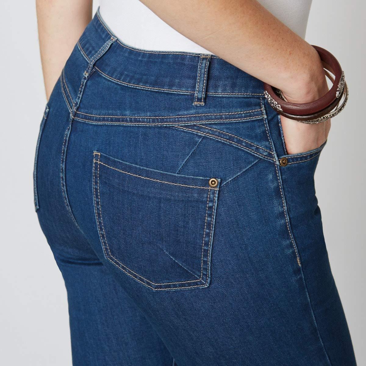 Length 27 La Redoute Womens Push-Up Ankle Grazer Jeans