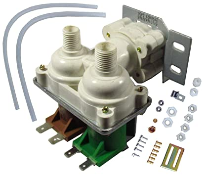 2002182 - Quality Replacement Dual Water Valve Kit for Refrigerators with  Water Dispenser and Ice Maker  Fits Whirlpool, Kenmore, Maytag, KitchenAid,
