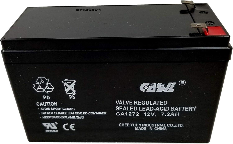 Verizon FiOS PX12072-HG Replacment Battery by Casil 12V 7.2AH F2