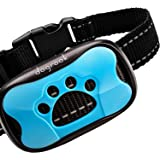 DogRook Rechargeable Bark Collar - Humane, No Shock Training - Action Without Remote - Vibration & Sound Care Modes…