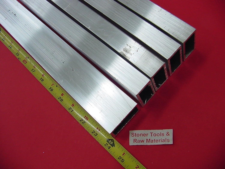 "6063 Aluminum Rectangle Tube 1/"" x 3/"" x 60/"" x 1//8/"" Wall--/>1/"" x 3/"" x .125/"" Wall"