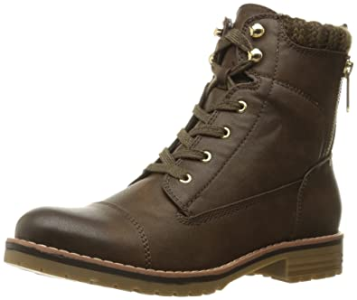 06eaed36ee687a Tommy Hilfiger Women s Omar2 Combat Boot Brown 6 ...