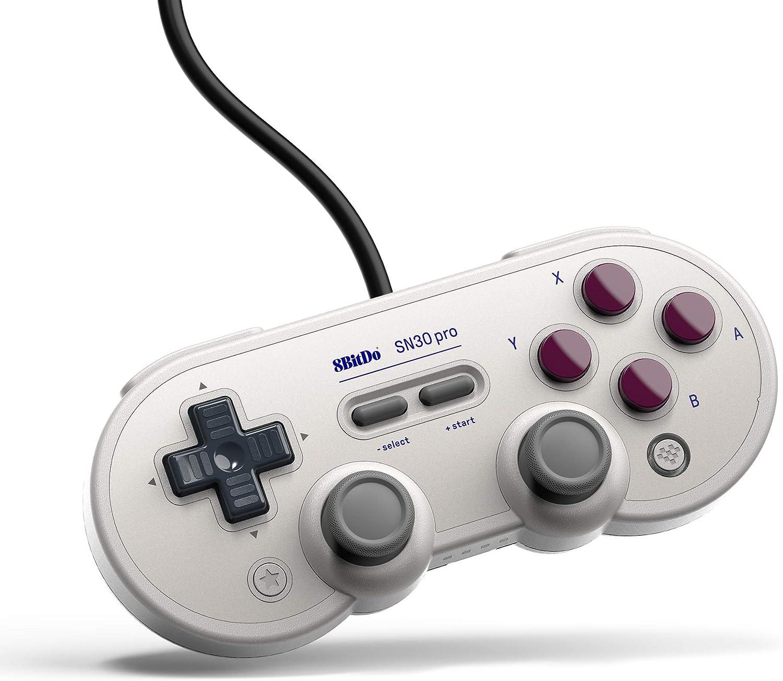 8Bitdo SN30 Pro USB Gamepad for Switch, PC, RetroPie, Raspberry Pi (G Edition)