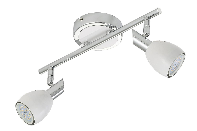 Briloner LeuchtenDeckenleuchte LED Lampe Deckenlampe Strahler Spots Wohnzimmerlampe Deckenstrahler Deckenleuchte Wohnzimmer Deckenspot