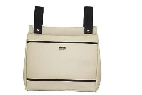 Baby Star M10-0699 - Bolso panera para silla universal, color arena y chocolate