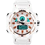 SMAEL Women's Sports Analog Digital Watch...