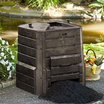 Amazon.com: soilsaver Classic compostador, Negro: Jardín y ...