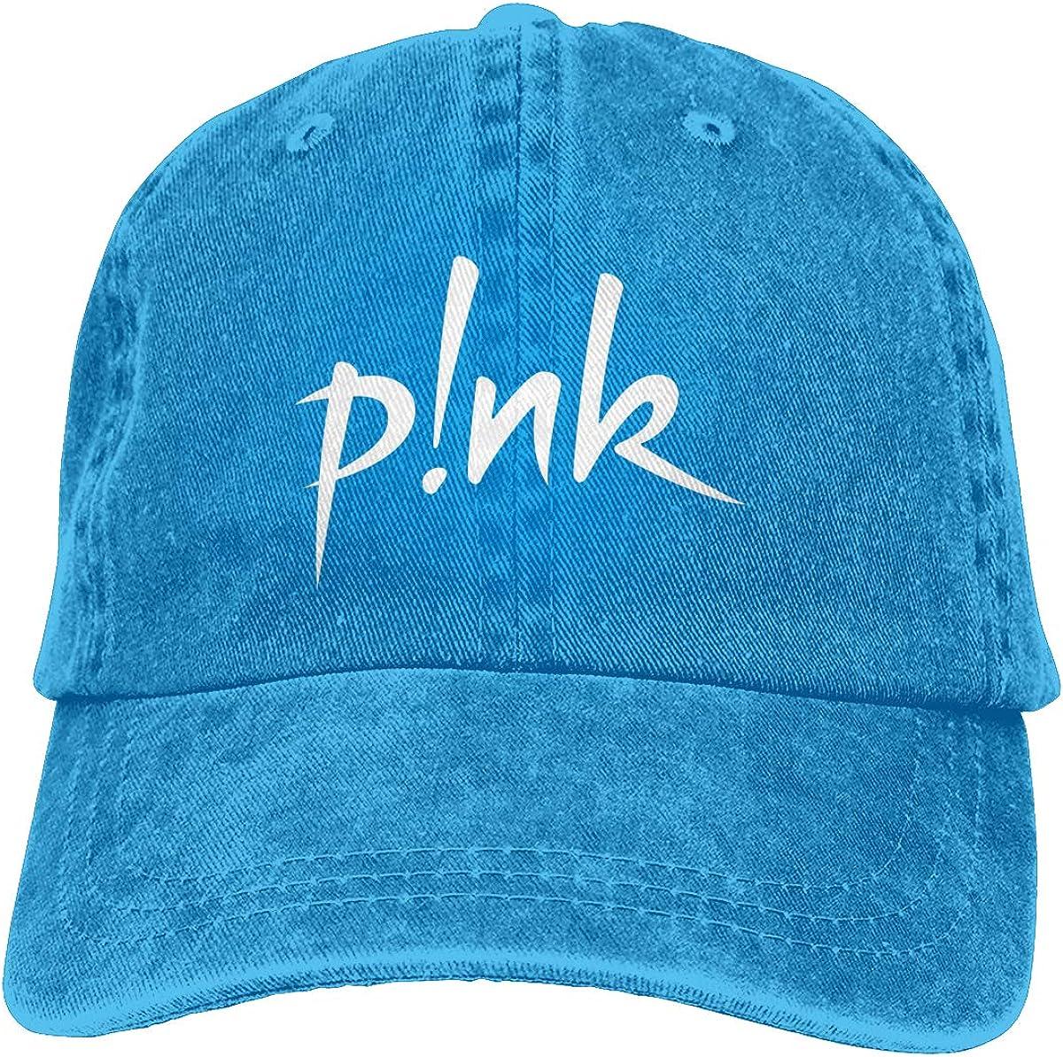 STACDO P!nk Unisex Vintage Adjustable Dad-Hat Custom Cowboy Hat