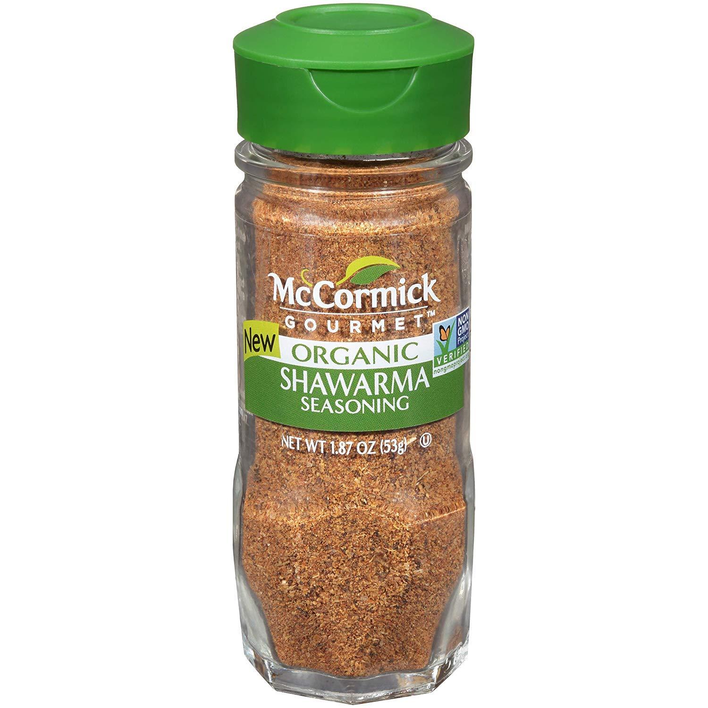 McCormick Gourmet Organic Shawarma, 1.87 oz (Pack - 2)