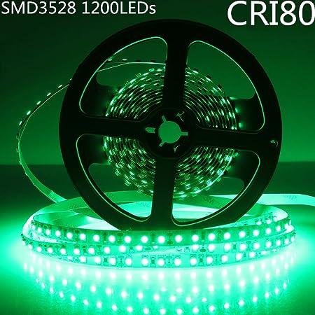 Green SMD 5050 Led Strip Lights DIY Lamps Tape Roll 5M 150Leds 12V