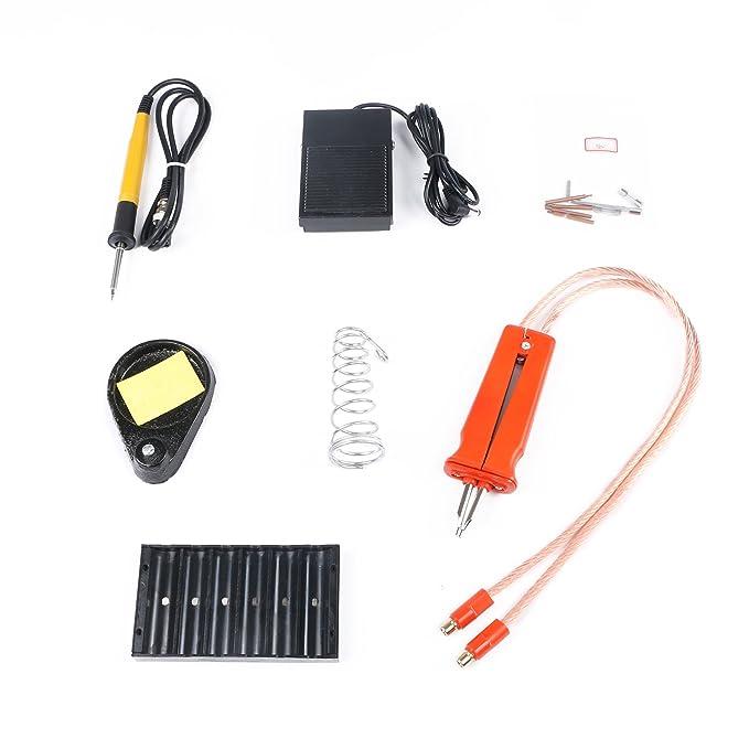 Sunkko 1.9 KW pulso Soldador de punto de la batería soldar: Amazon.es: Bricolaje y herramientas