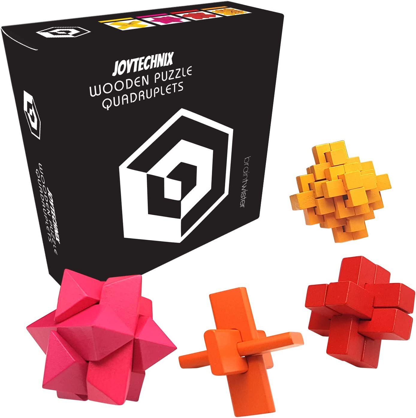 Amazon Com 3d Puzzle Games For Adults Wooden Brain Teaser Box