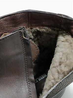 NL NEULEISS stylishe Echt-Leder Herren-Schuhe Dunkel-Braun - Hochwertige  Business-Schuhe, gefütterte Stiefel Boots - 100% Leder (44)  Amazon.de   Schuhe   ... 47f2b5d1f4