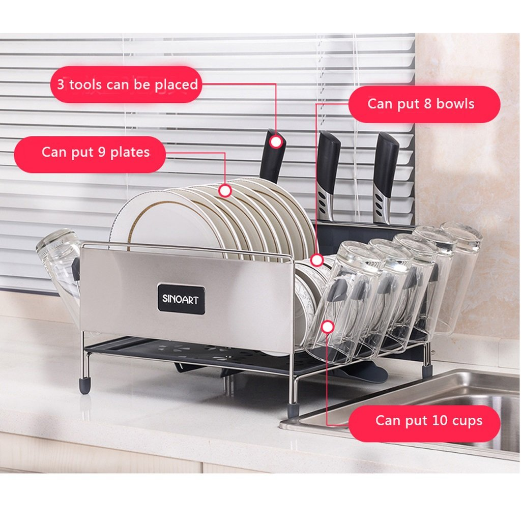 Amazon.com: Estante de almacenamiento multifunción de cocina ...