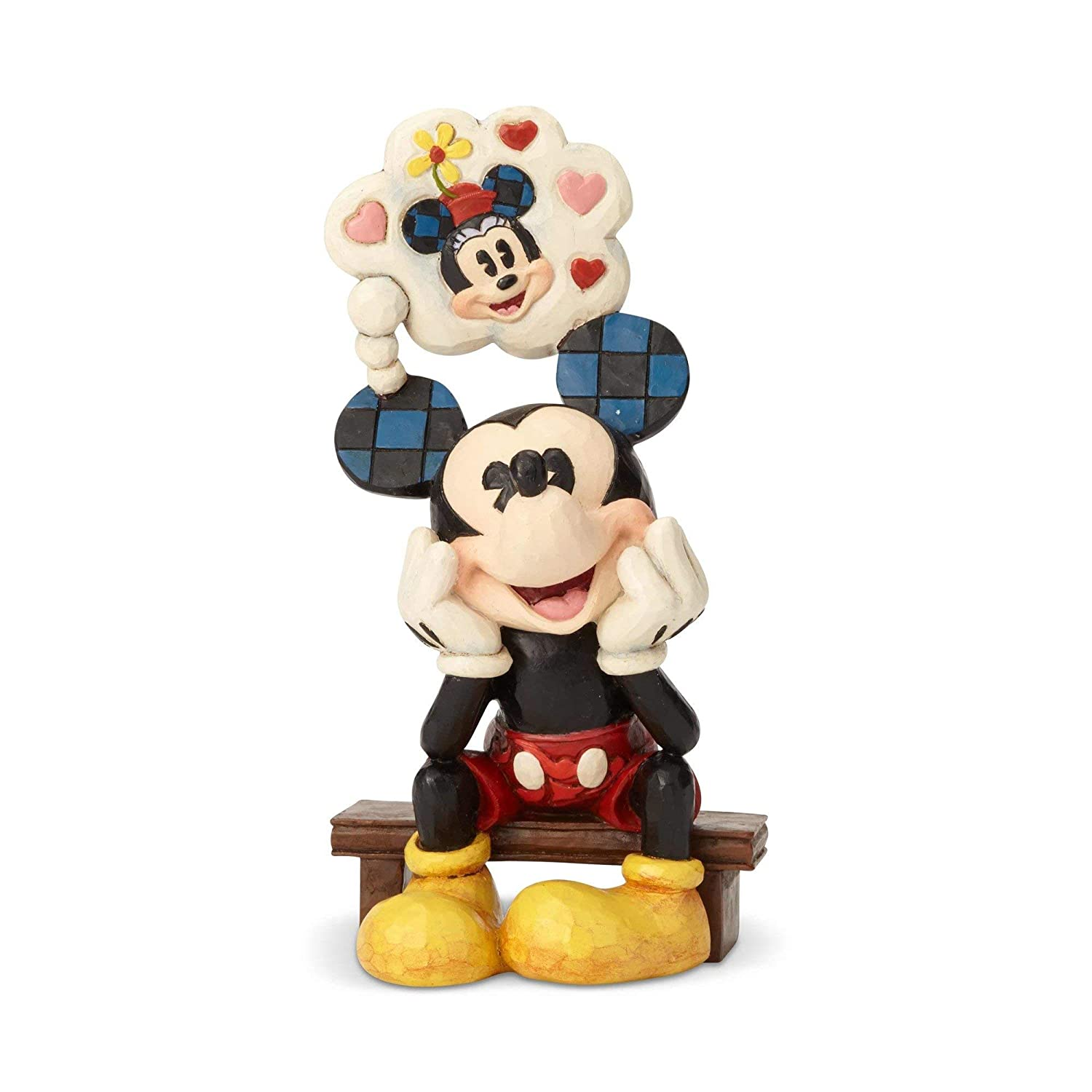 Enesco Disney Traditions Mickey with Love Thought