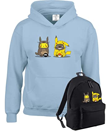 PACK Pikachu pokemon inspired kids hooded tops for boys and girls available  in multiple colours and 82994874e3f42