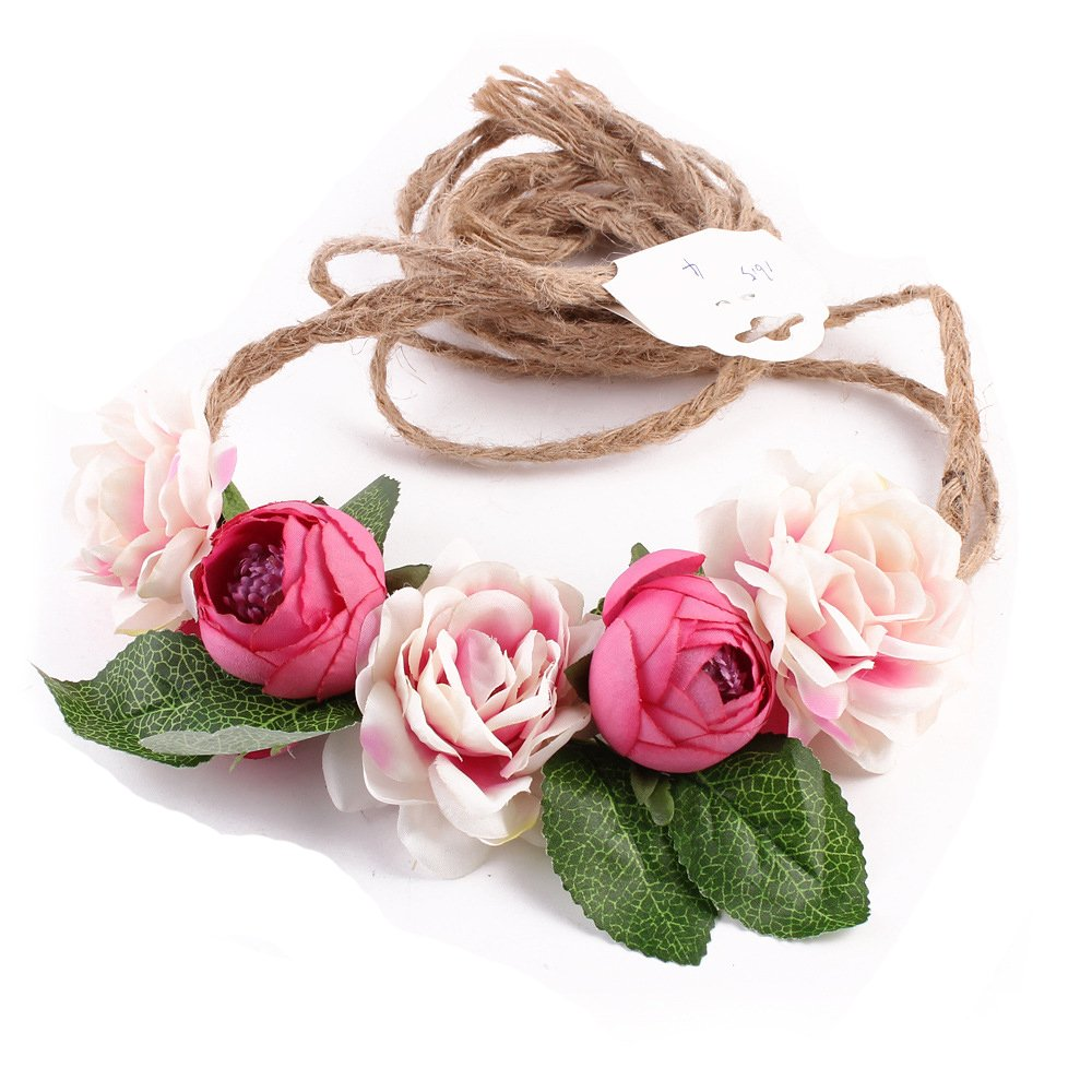 Amazon Dreamlily Flower Maternity Sash Belt Headband Floral