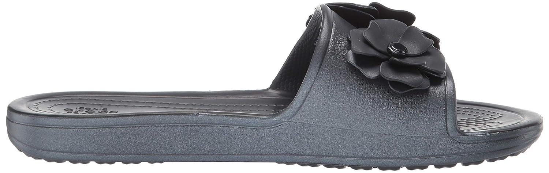 Crocs Womens Sloane Vivid Blooms Slide Sandal