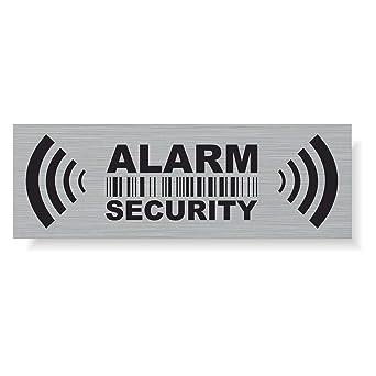 Decooo.be - Pegatinas de Advertencia para Alarma de ...