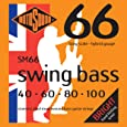 Rotosound SM66 Swing Bass 66 Stainless Steel Hybrid Bass Guitar Strings (40 60 80 100)