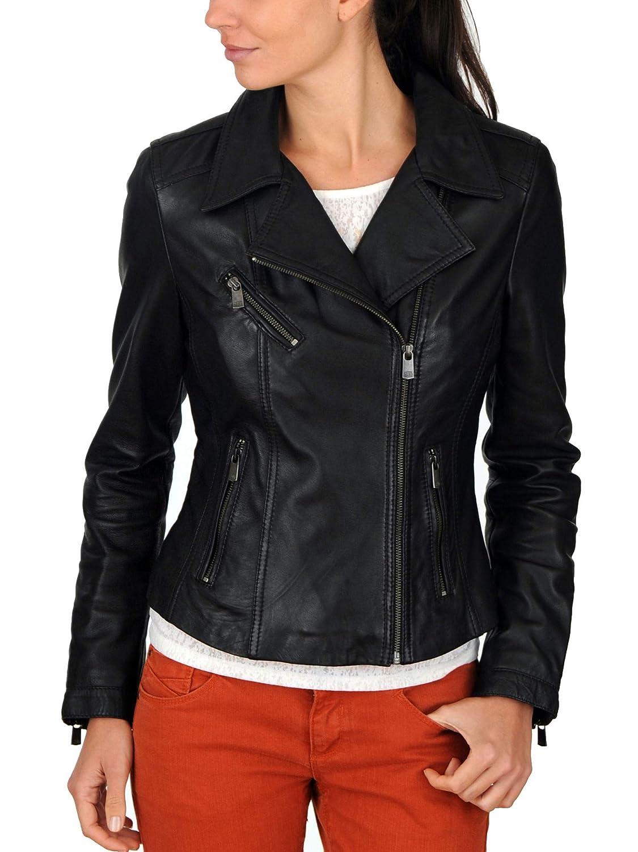 Women's Stylish Lambskin Genuine Leather Jacket WJ148