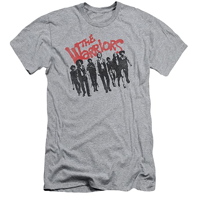 The Warriors - Camiseta - Manga corta - Hombre Gris gris Medium