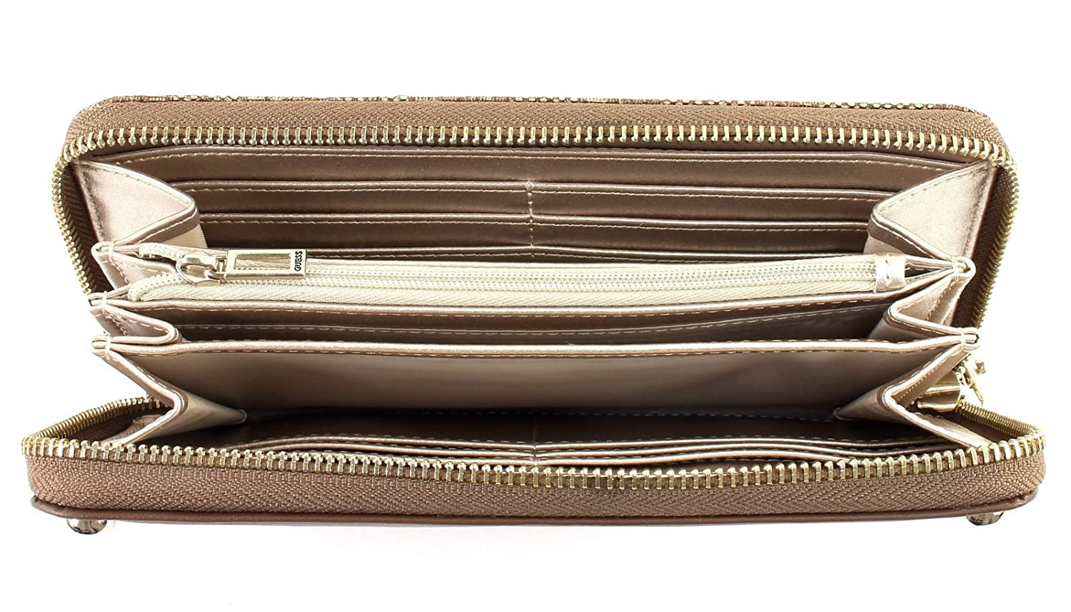 Guess Florence SLG Large Zip Around Brown ixMnCaNV