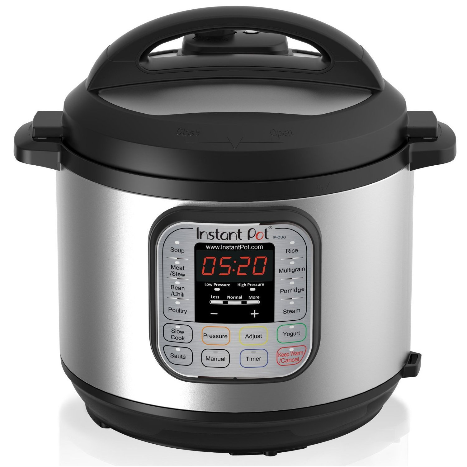 Instant Pot DUO60 6qt 7-in-1 Multi-Use Programmable Pressure Cooker