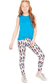 0e0890e91c4bb Amazon.com: Terez Girls' Printed Legging: Clothing