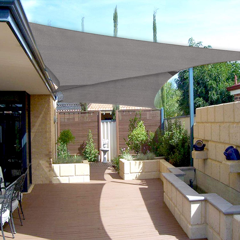 Laneetal Tenda a Vela Ombreggiante Telo Parasole in HDPE Anti UV Tende da Sole Respirante per Esterni Giardino 2x3m 0400001