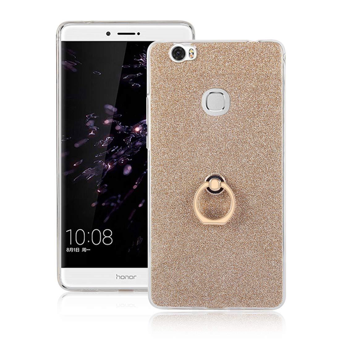 Cover Huawei Honor Note 8, Lyzwn Case Cover di Alta Qualità in Silicone TPU Bumpe Custodia con Glitter Bling Scintillante Brillantini per Donna per Ragazze e Lucida Custodia