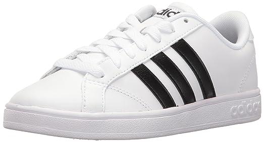 adidas Men's Shoes   Baseline Fashion Sneakers, White/Black/White, (6.5