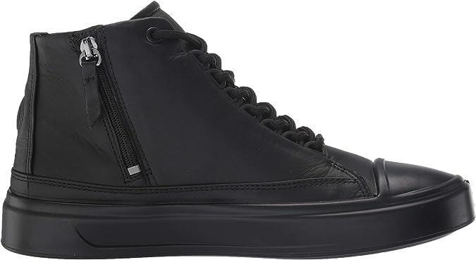 Ecco Soft 8 MID Sneaker Damen dark shadow