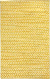 product image for Capel Spear Yellow 9' x 12' Rectangle Hand Tufted Rug