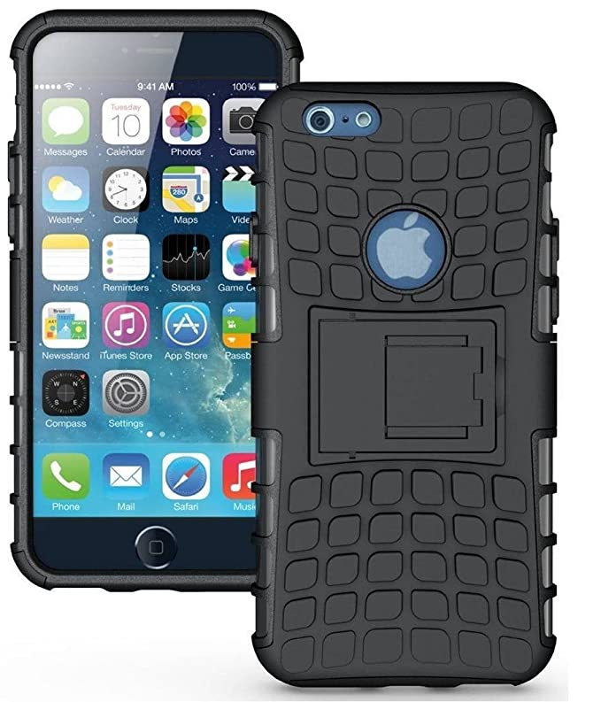 Mobile Mart Shock Proof Back Cover With Stand for Apple iPhone 6  amp; 6S Mobile Accessories
