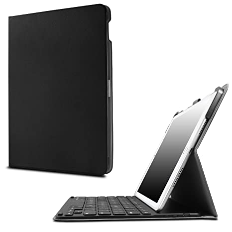 1ef728c25c8 INFILAND iPad Pro 9.7 Keyboard Case - Ultra-Thin Smart Stand Cover Case  with Apple